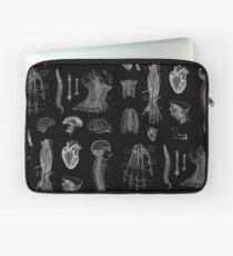 Vintage Anatomie Print Laptoptasche