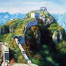 Great Wall Oil Painting by skycn520