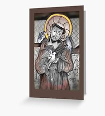 Saint Francis of Assisi Day Greeting Card