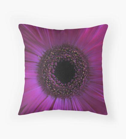 Gerber in pink Throw Pillow