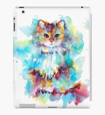 Watercolor cat 2018 iPad Case/Skin