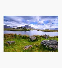 Pine Island, Derryclare Lough, County Galway, Ireland Photographic Print