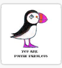 Puffin Fabulous Sticker
