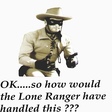 Lone Ranger by YoungMath