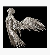 Black angel Photographic Print