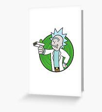 Vault Rick Greeting Card