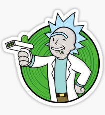Vault Rick Sticker