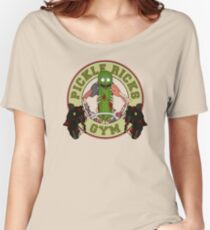 Pickle Rick's Gym Women's Relaxed Fit T-Shirt