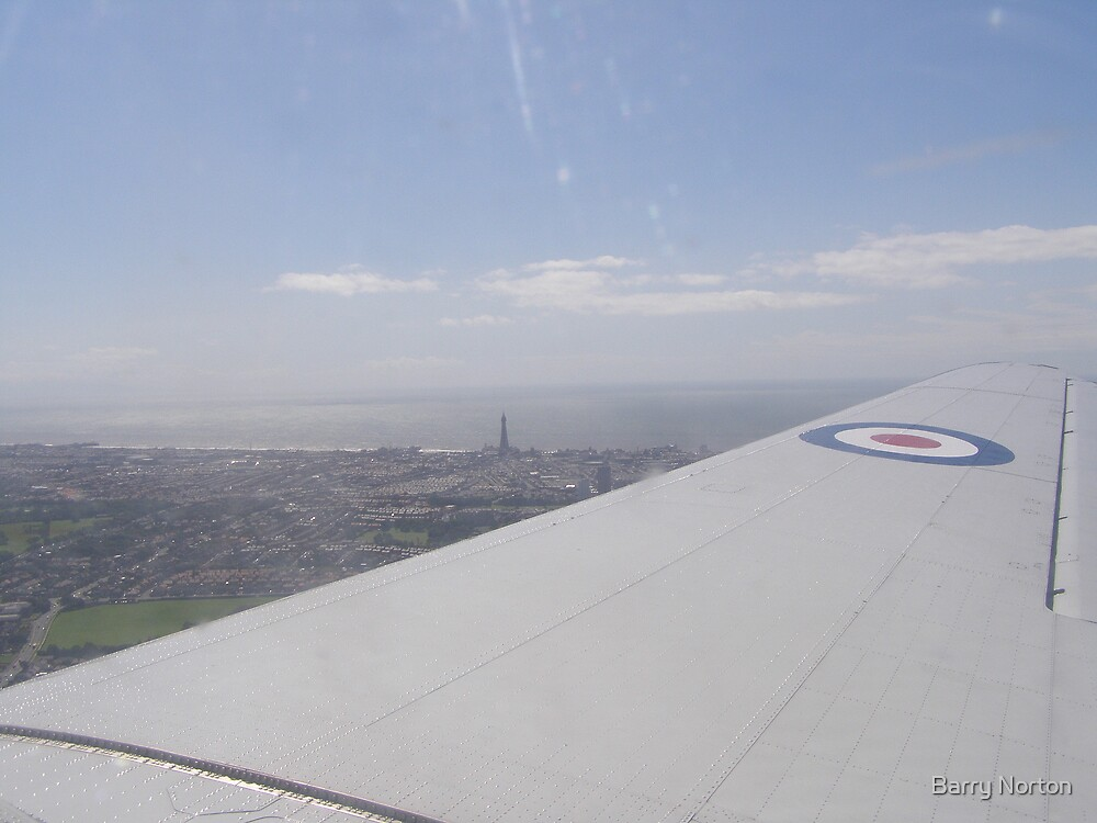 Blackpool Tower from the DC3 10/07/08 by Barry Norton