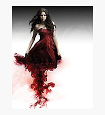 Elena Gilbert - The Vampire Diaries - Season 3 - Promotional Poster  Photographic Print