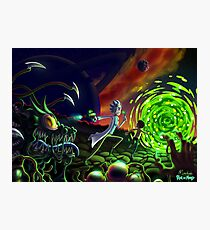 Run | Rick and Morty  Photographic Print