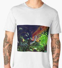 Camiseta premium para hombre Correr   Rick y Morty