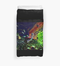 Run | Rick and Morty  Duvet Cover