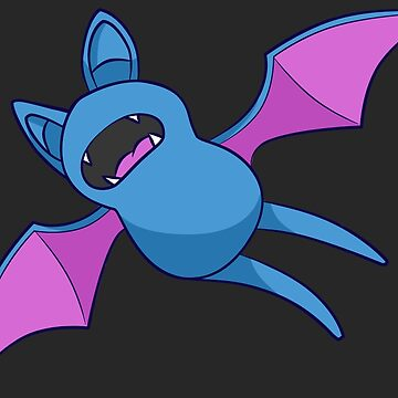 Zubat - Pokemon by NibblesGameOver