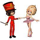 Sugarplum Fairy and Nutcracker Prince by algoldesigns