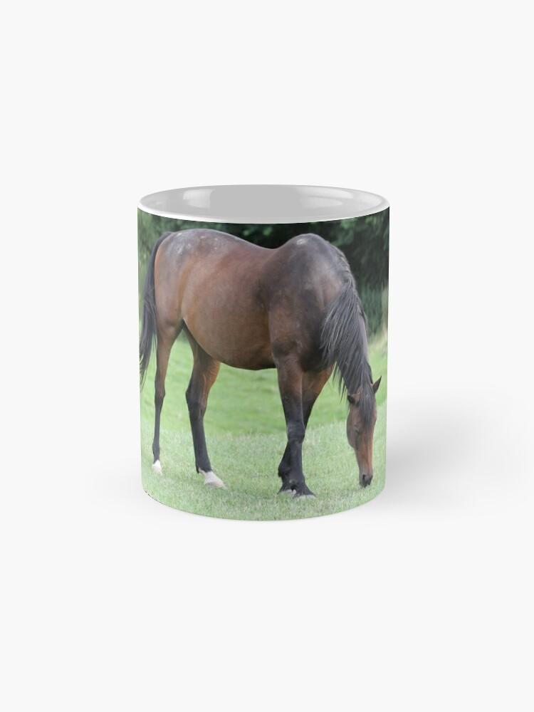 Alternative Ansicht von Braunes Pferd Tassen