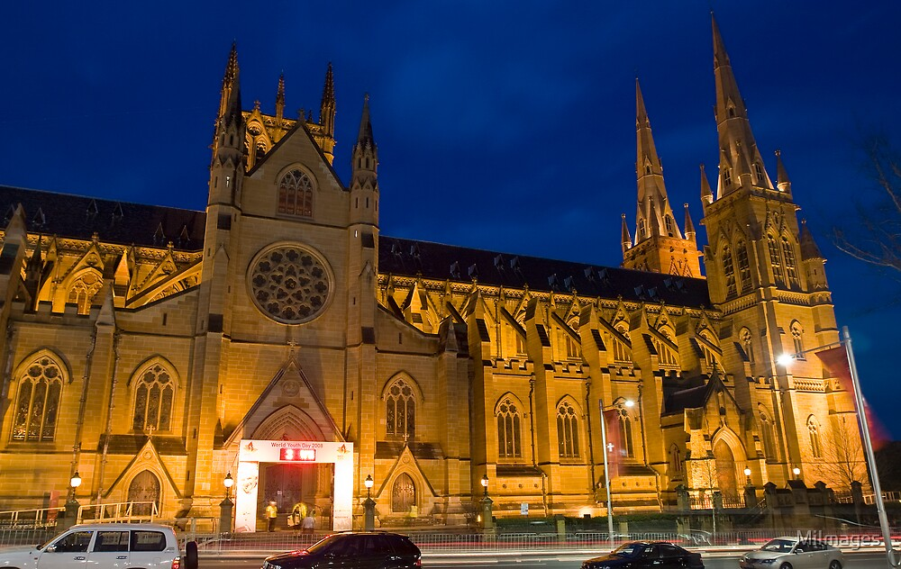 St. Mary's Cathedral 3 Days to Go by MiImages