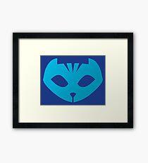 Pj masks Catboy symbol Framed Print