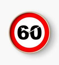 60e anniversaire Horloge