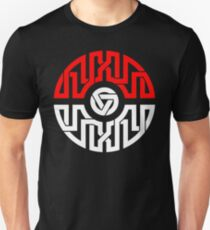 Celtic Pokeball Vertical Lines T-Shirt