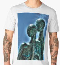 Coupled Forms (HDRI) Men's Premium T-Shirt