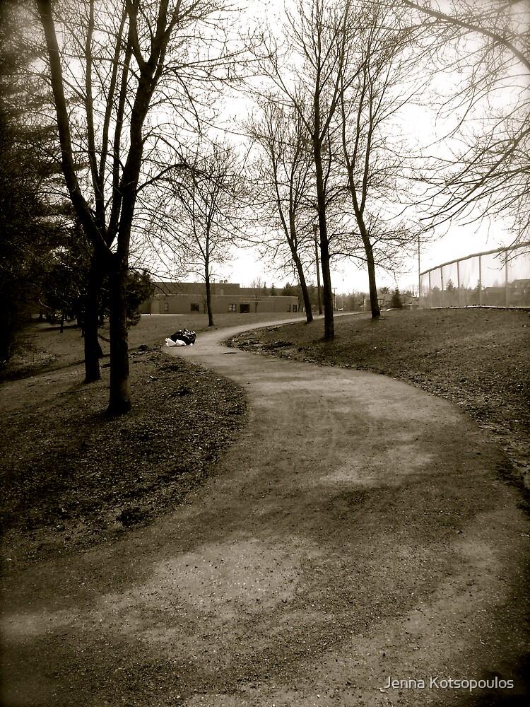 dark pathway by Jenna Kotsopoulos