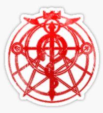 Fullmetal Alchemist  Brotherhood Sticker