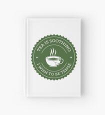 Tea Quote Hardcover Journal