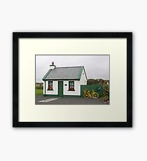 River Cottage , County Kerry , Ireland Framed Print