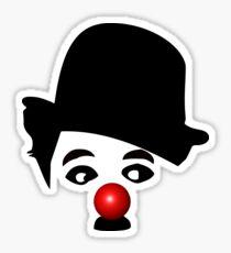 Charlie Chaplin The Genius Sticker