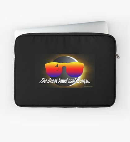 The Great American Eclipse Laptop Sleeve