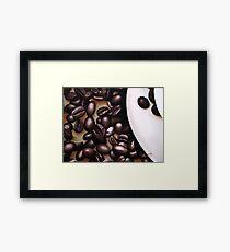 Raw Caffeine Framed Print