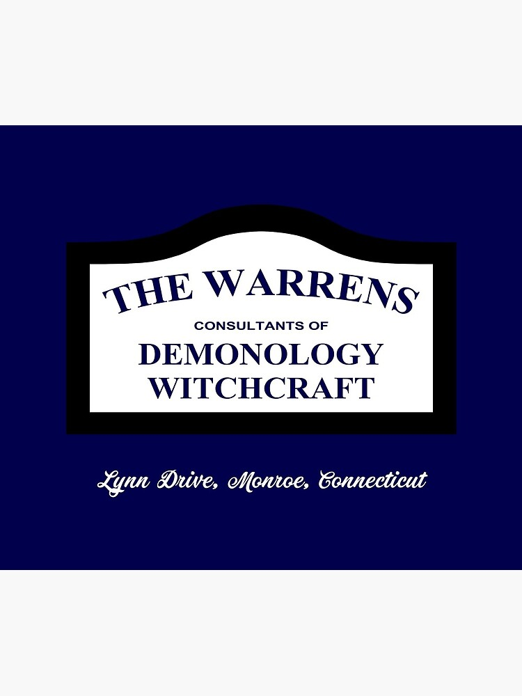 The Conjuring - The Warrens Sign by UnconArt