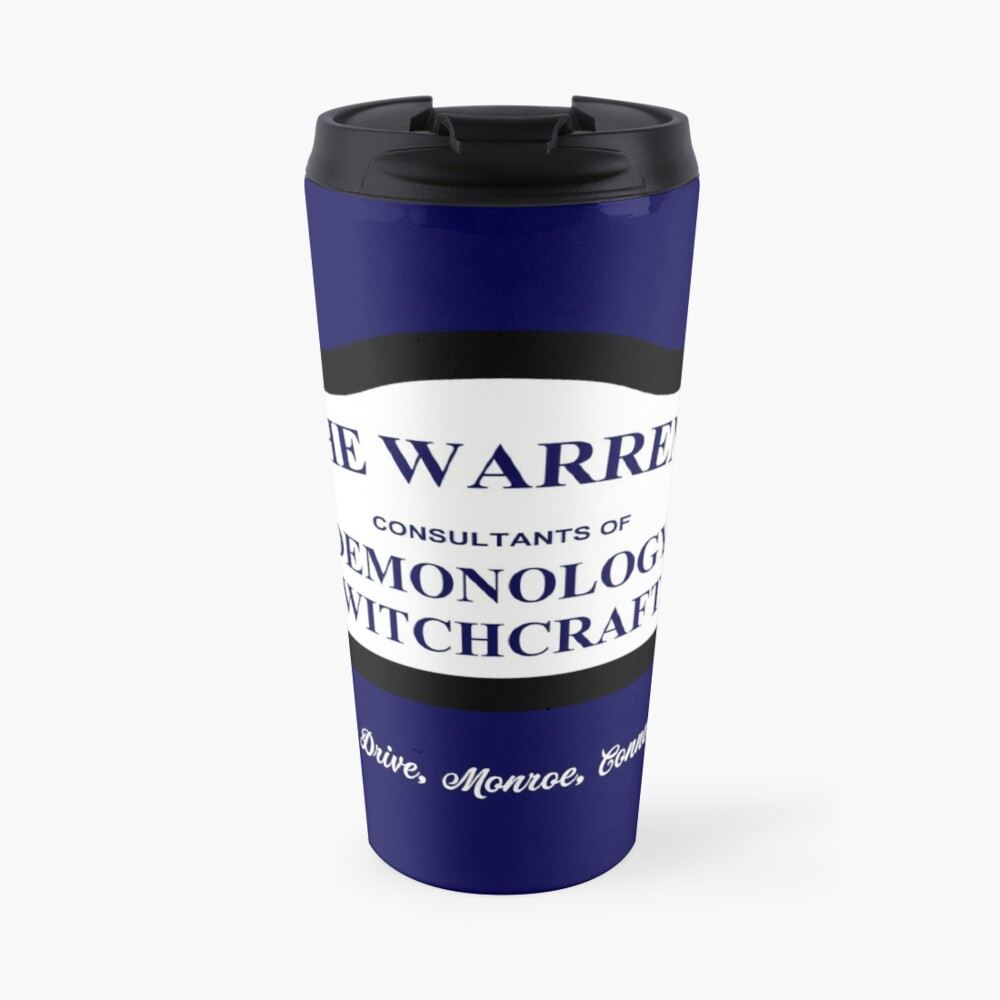 The Conjuring - The Warrens Sign Travel Mug
