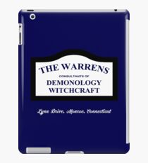 The Conjuring - The Warrens Sign iPad Case/Skin