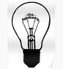 Glühbirne Logo Poster