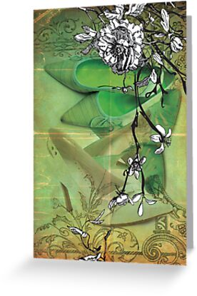 little green shoes by Narelle Craven