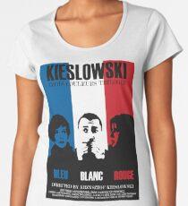 Kieslowski - Three Colours Trilogy Women's Premium T-Shirt