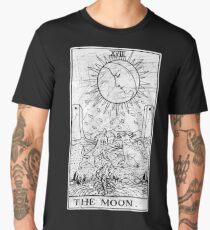 The Moon Tarot Card - Major Arcana - fortune telling - occult Men's Premium T-Shirt