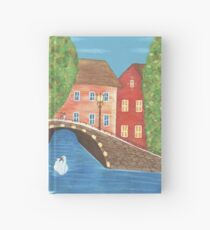 The Cozy Village Hardcover Journal