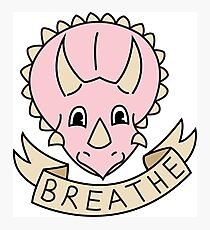 breathe [more pink] (custom colours available) Photographic Print