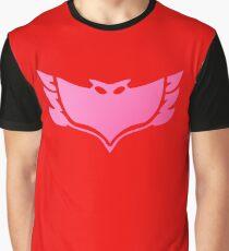 Pj masks Owlette symbol Graphic T-Shirt