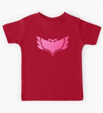 Pj masks Owlette symbol Kids Clothes