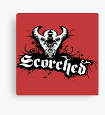 Scorchhed Canvas Print