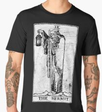 The Hermit Tarot Card - Major Arcana - fortune telling - occult Men's Premium T-Shirt