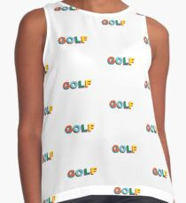 GOLF LOGO COLORED TYLER THE CREATOR Sleeveless Top