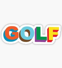 GOLF LOGO COLORED TYLER THE CREATOR Sticker