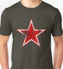 Vintage Soviet Russian Retro Red Star T-Shirts Unisex T-Shirt