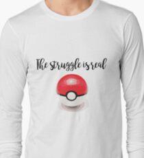 Pokemon Struggle Long Sleeve T-Shirt