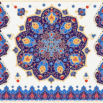 Islamic floral pattern  by anvino